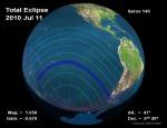 Eclips Solar Total of 2010 NASATP