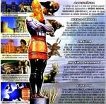 A Estatua representa os reinos destemundo.