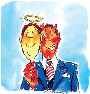 Hipocrisia: foi um falso santo que deu lucro para o Vaticano.
