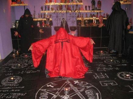 Pentagrama satanico
